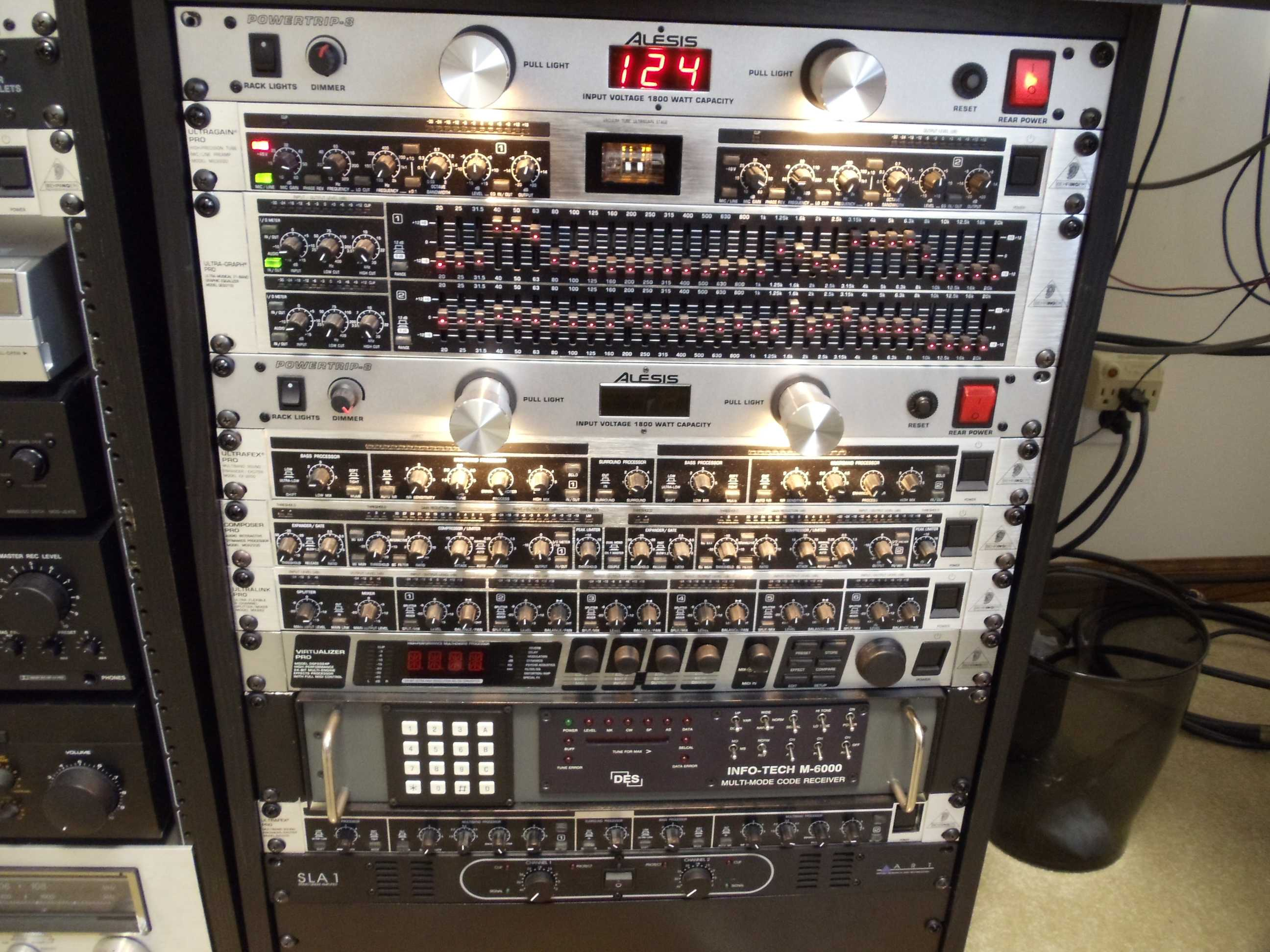 The KU8R Voodoo Audio rackage!!
